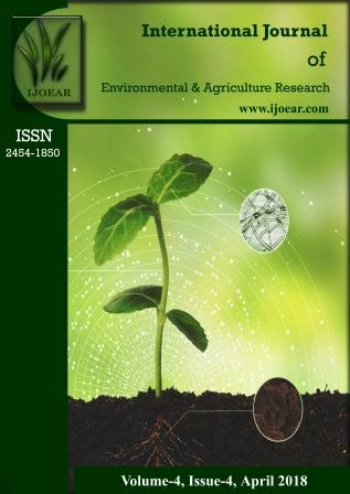 Agriculture Journal: Volume-4, Issue-4, April 2018 complete issue
