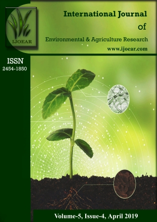 Agriculture Journal: Volume-5, Issue-4, April 2019 complete issue