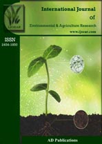 Agriculture journal ijoear cover Page