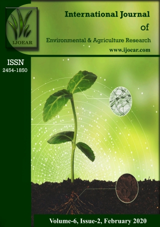 Agriculture Journal: Volume-6, Issue-2, February 2020 complete issue