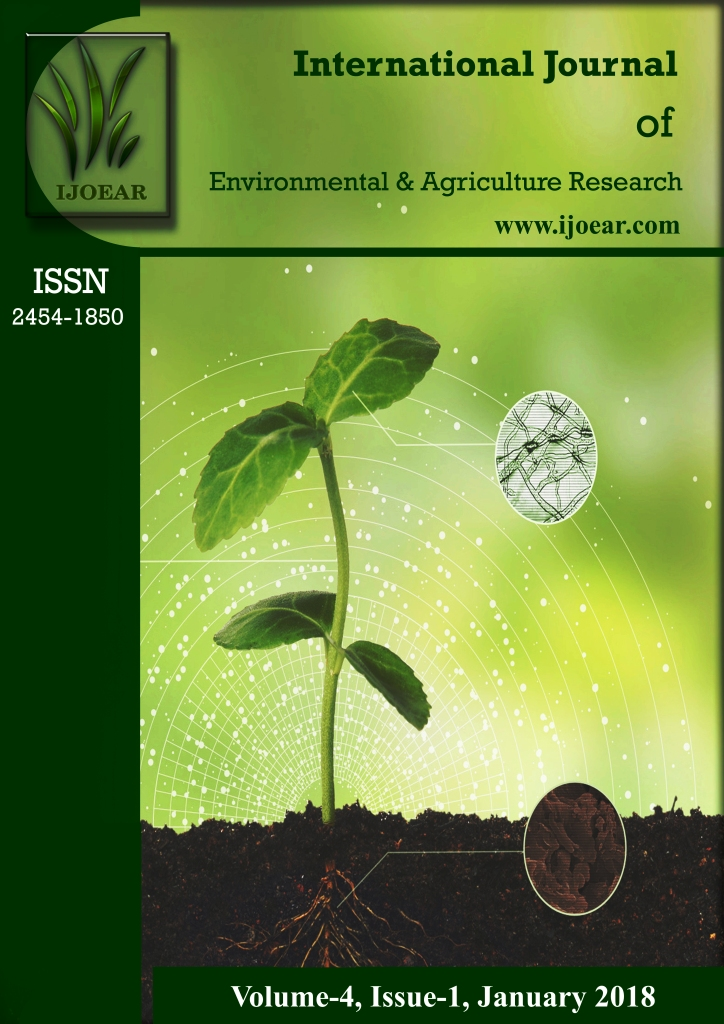 Agriculture Journal: Volume-4, Issue-1, January 2018 complete issue