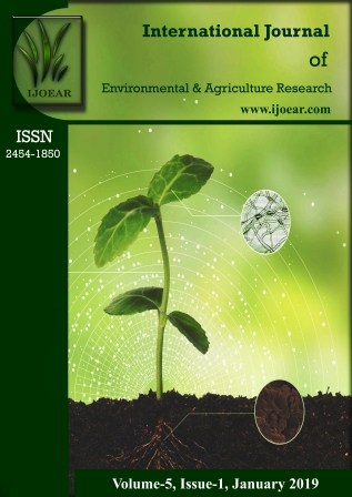 Agriculture Journal: Volume-5, Issue-1, January 2019 complete issue