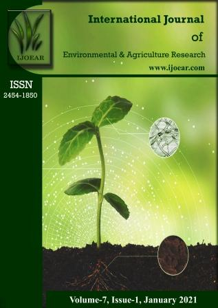 Agriculture Journal: Volume-7, Issue-1, January 2021 complete issue