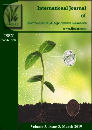 Agriculture Journal: Volume-5, Issue-3, March 2019 complete issue