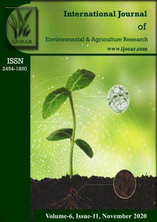 Agriculture Journal: Volume-6, Issue-11, November 2020 complete issue
