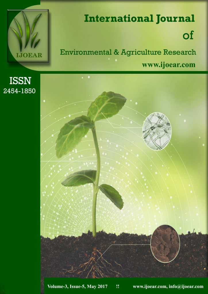 Agriculture Journal: Volume-3, Issue-5, May 2017 complete issue