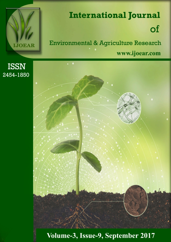 Agriculture Journal: Volume-3, Issue-9, September 2017 complete issue