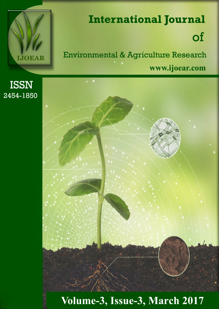 Agriculture Journal: Volume-3, Issue-3, March 2017 complete issue